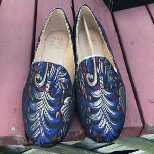 Naturalizer fabric brocade shoes. Never worn!